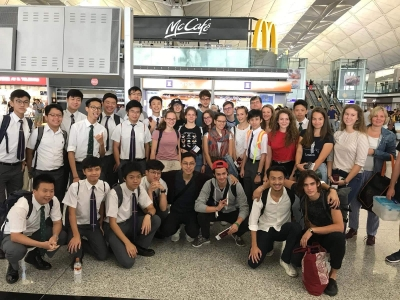 At Home on the Other Side of the Globe – Fényi Gyula Jesuit High School  Students in Wah Yan Colleges Hong Kong and Kowloon